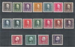 Bosnien 1916 Satz ANK 99 - 116, *, KW: 80�