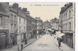 CPA DE FÉCAMP ( Seine- Inf)  Rue Paul-Casimir-Périer - Fécamp