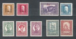 Bosnien 1917/18 Satz ANK 119,120,142-148, *, KW: 12�