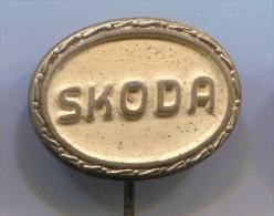 SKODA - Car, Auto, Automobile, Vintage Pin, Badge - Pins