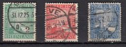Millènaire Rheinan   3 Valeurs - Allemagne