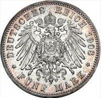 5 Mark 1903 - 2, 3 & 5 Mark Silver