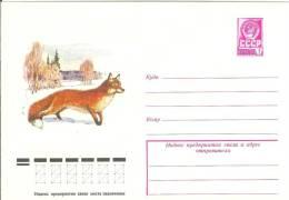 Russia USSR 1978 Fauna Red Fox Animal Mammal Fuchs - 1923-1991 USSR