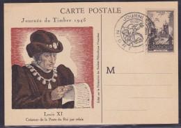 France Journée Du Timbre 1945 - Niort - ....-1949
