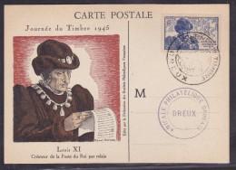 France Journée Du Timbre 1945 - Dreux - ....-1949