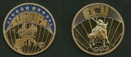 Medalla Token Jeton Alemania ECU 1993 - Allemagne