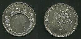 Medalla Token Jeton Alemania Eurepean Currencies 1990 - Alemania
