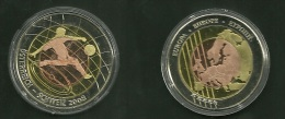 Medalla Token Jeton Alemania Football Eurocopa Osterreich Schewiz 2008 - Allemagne
