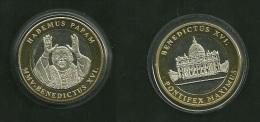Medalla Token Jeton Alemania Benedictus XVI Habemus Papam 2005 - Allemagne