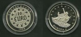 Medalla Token Jeton Alemania 10 Euro 1998 Europa - Alemania