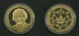 Medalla Token Jeton Alemania Angela Merkel 2005 - Alemania