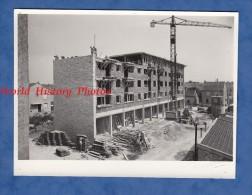 Photo Ancienne - CHALONS Sur MARNE - HLM En Construction -1964- Ouvriers Au Travail Maçon Chantier Batiment Ouvrier BTP - Métiers