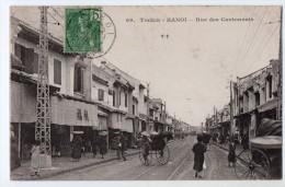 S1457 @ TONKIN @ HANOI @ BELLE CPA : RUE DES CANTONNAIS @ A VOIR ! - Vietnam