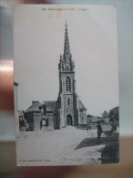 Carte Postale Chantepie L'Eglise Correspondance 1915 - Francia
