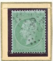 N°35 LOSANGE GRANDS CHIFFRES. - 1863-1870 Napoléon III Con Laureles