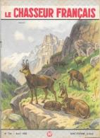 Le Chasseur Français N°734 Avril 1958 - Chamois - Illustration G.F. Rötig - Fischen + Jagen