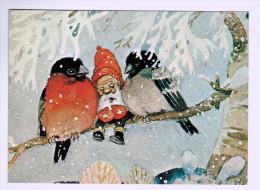 "5109   CPM  "" Tupplur ""   Petit Somme      ;     Illustrateur Danois  M. Davidsen - Illustrators & Photographers"