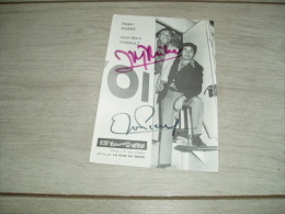 Autographe de Roger Pierre et Jean-Marc Thibault