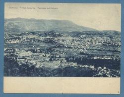 FRIULI VENEZIA GIULIA SLOVENIA - GORIZIA - VEDUTA GENERALE DAL CALVARIO IN CARTOLINA DOPPIA  -  VIAGGIATA  1922 - PIEGA - Gorizia