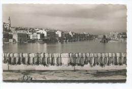 CPA 34 CPSM SETE Vue Sur La Ville Et Le Canal - Sete (Cette)