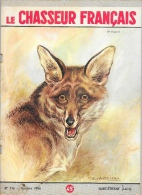 Le Chasseur Français N°716 Octobre 1956 - Un Brigand (Loup) - Illustration F. Castellan - Fischen + Jagen