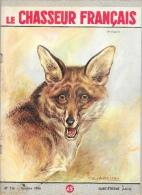 Le Chasseur Français N°716 Octobre 1956 - Un Brigand (Loup) - Illustration F. Castellan - Hunting & Fishing