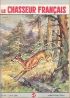 Le Chasseur Français N°710 Avril 1956 - Chevreuil - Illustration F. Castellan - Hunting & Fishing