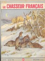 Le Chasseur Français N°707 Janvier 1956 - Perdrix - Illustration G.F. Rötig - Fischen + Jagen