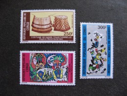 Congo:  TB Série PA N° 285 Au N°287 , Neufs XX. - Congo - Brazzaville