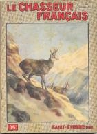 Le Chasseur Français N°693 Novembre 1954 - Chamois - Illustration F. Castellan - Fischen + Jagen