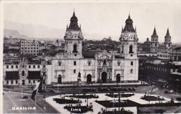 Peru Lima Basilica Catholic Cathedral Real Photo