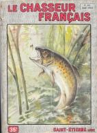 Le Chasseur Français N°690 Août 1954 - Truite - Illustration F. Castellan - Hunting & Fishing