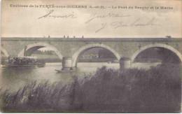 Environs De La FERTE-sous-JOUARRE - Le Pont Du Sauçoy Et La Marne - La Ferte Sous Jouarre