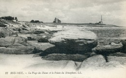 BEG MEIL -29- LA PLAGE DES DUNES ET LA POINTE DU SEMAPHORE - Beg Meil