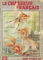 Le Chasseur Français N°686 Avril 1954 - Voiles De Chine (Poissons D´aquarium) - Illustration Marcel Bourgeois - Hunting & Fishing