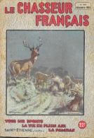 Le Chasseur Français N°646 Décembre 1950 - Les Maraudeurs (cerfs) - Illustration E. Leliepvre - Fischen + Jagen
