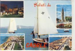 CAORLE - Saluti Da Caorle,  Veduta Multi , 1966 - Venezia (Venice)