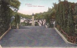 Gibraltar General Elliot's Monument - Gibraltar