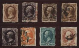 USA 1873 NICE LOT - 1847-99 General Issues