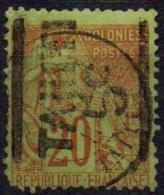 TAHITI - 5 C. Sur 20 C. De 1881 FAUX - Tahiti