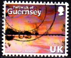 GUERNSEY 2008 Abstract Guernsey -  (40p)  - St. Saviour's Reservoir    FU - Guernesey