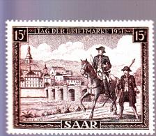 SARRE : Journée Du Timbre : Y&T : 291* - 1947-56 Occupation Alliée