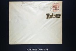 Montenegro: Umschlag U6B 157 * 126 Mm Used Cancel RETOUR / Keine Anfrage Triest - Montenegro