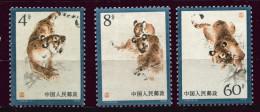Chine ** N° 2228 à 2230 (ref. Michel Au Dos) - Tigre - - 1949 - ... République Populaire