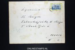 Montenegro: Umschlag  U10 , Used RR Has A Vert. Fold - Montenegro