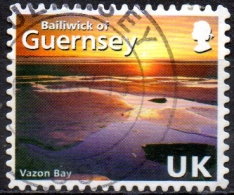 GUERNSEY 2008 Abstract Guernsey - (40p.) - Vazon Bay    FU - Guernesey