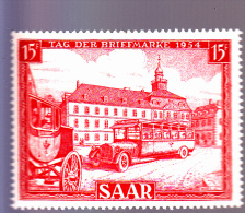 SARRE :  Journée Du Timbre : Y&T : 329* - 1947-56 Occupation Alliée