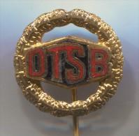 DTSB - Deutsches Turn Und Sportfest, Ex DDR East Germany, Vintage Pin Badge, Enamel - Pin
