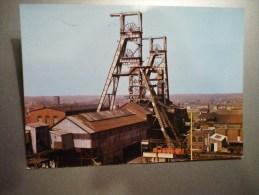 La Mine En Activité Paysage Minier Postée De Fenain Nord - Mines