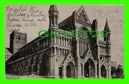 CHURCH - ST ALTHONS, THE ABBEY - TRAVEL IN 1905 - RAPHAEL TUCK & SONS, SILVERETTE - - Eglises Et Cathédrales